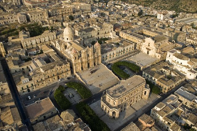 View of Noto historical centre 1